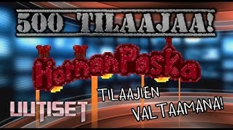 Hornanpaska Uutiset - TILAAJIEN VALTAAMANA! 500/600 TILAAJAA!!! [Animaatio]