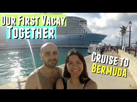 FIRST VACATION WITH MY BOYFRIEND AND WE'RE GOING ON A CRUISE TO BERMUDA!