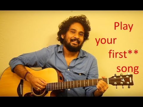Guitar Lessons in Telugu #7 of 25 - Course - Transition between A & E chords