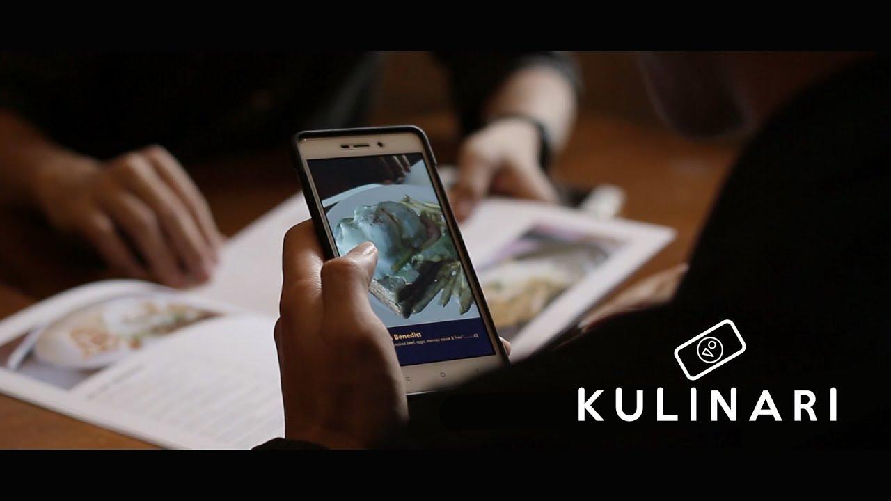 "KULINARI ""Food & Beverage Augmented Reality"" - YouTube"