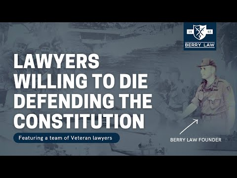 Lawyers Willing to Die Defending the Constitution | VA Disability Lawyers