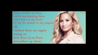 Download Video Demi Lovato- Angels Among Us (Lyrics) MP3 3GP MP4