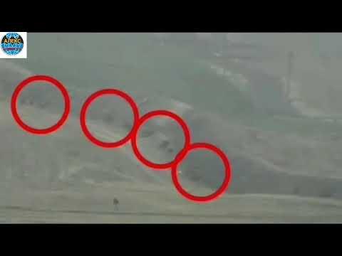 Карабах.Минобороны Армении публикует кадры ударов по силам азербайджанской армии. 04.10.2020