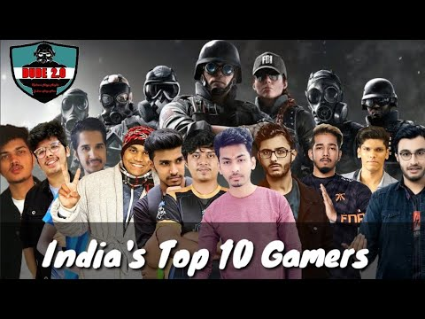 India's Top 10 Gamers   2020