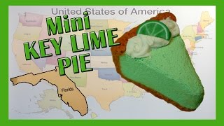 Polymer Clay Miniature Florida Key Lime Pie