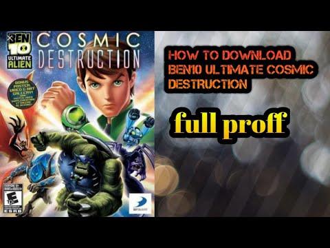 How to download ben10 ultimate alien  cosmic destruction  game