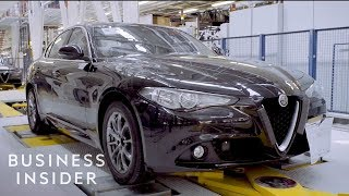 How The Alfa Romeo Giulia Is Made