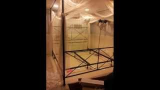 Palace Four Poster Bed Canopy ; Bed Canopy Drapes, Mosquito Net On Bed