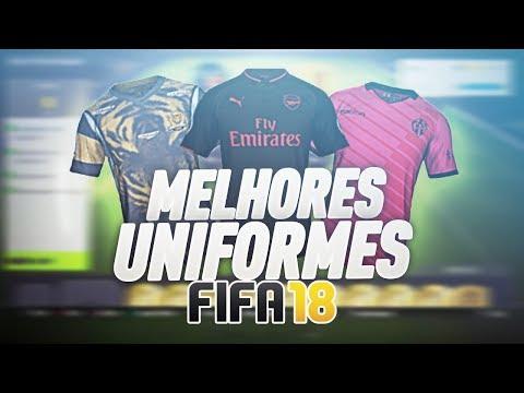 FIFA 18 | MELHORES & MAIS BONITOS UNIFORMES DO ULTIMATE TEAM! #1