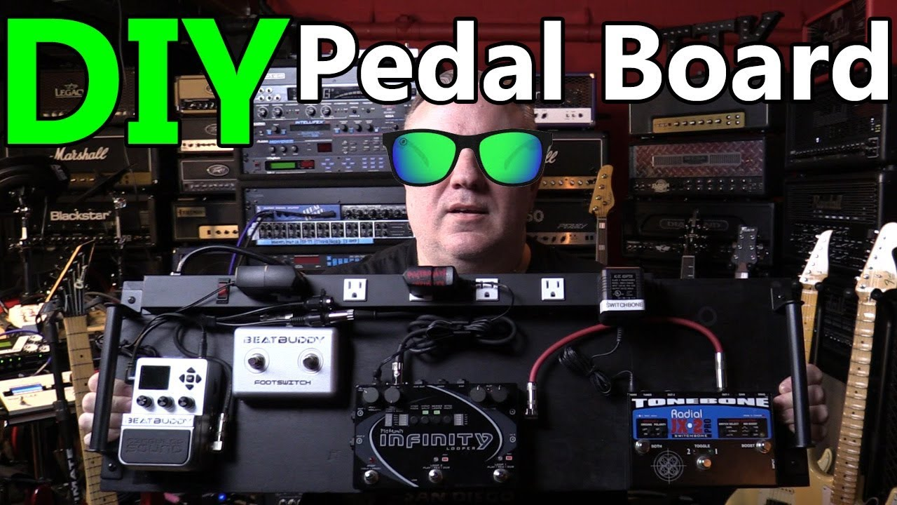 diy pedalboard build how to build a pedal board from plywood youtube. Black Bedroom Furniture Sets. Home Design Ideas