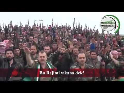 Suriye iç savaşı 7. yılına girdi. muhalifler yemin etti.