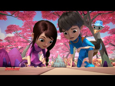 Miles From Tomorrow | Callisto Family Holiday | Disney Junior UK
