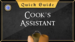 [Quick guide] Cook's Assistant Quest