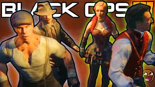 BLACK OPS 3 ZOMBIES CHARACTER INFO!! The SHADOW MAN & Shadows of Evil Zombies Storyline Explained