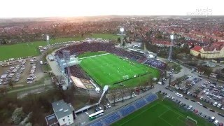 14348 widzów na meczu Pogoń - Legia 9.04.2016
