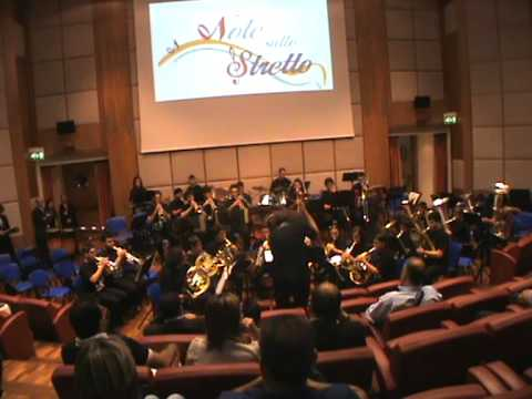 """Pirates of the Caribbean"" performed by Rhegium Brass Orchestra: conductor Marco Pierobon"