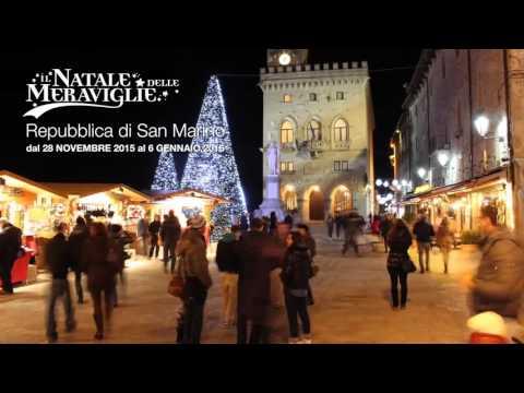 San Marino: Il Natale delle Meraviglie 2015