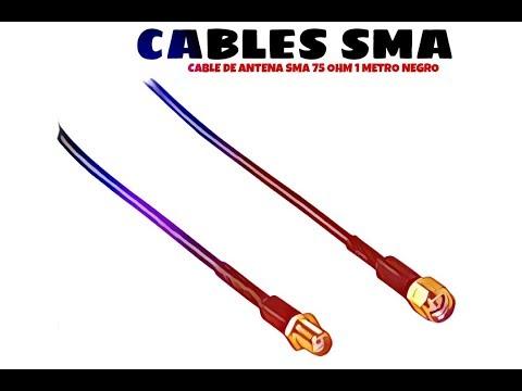 Video de Cable de antena SMA 50 Ohm 1 M Negro