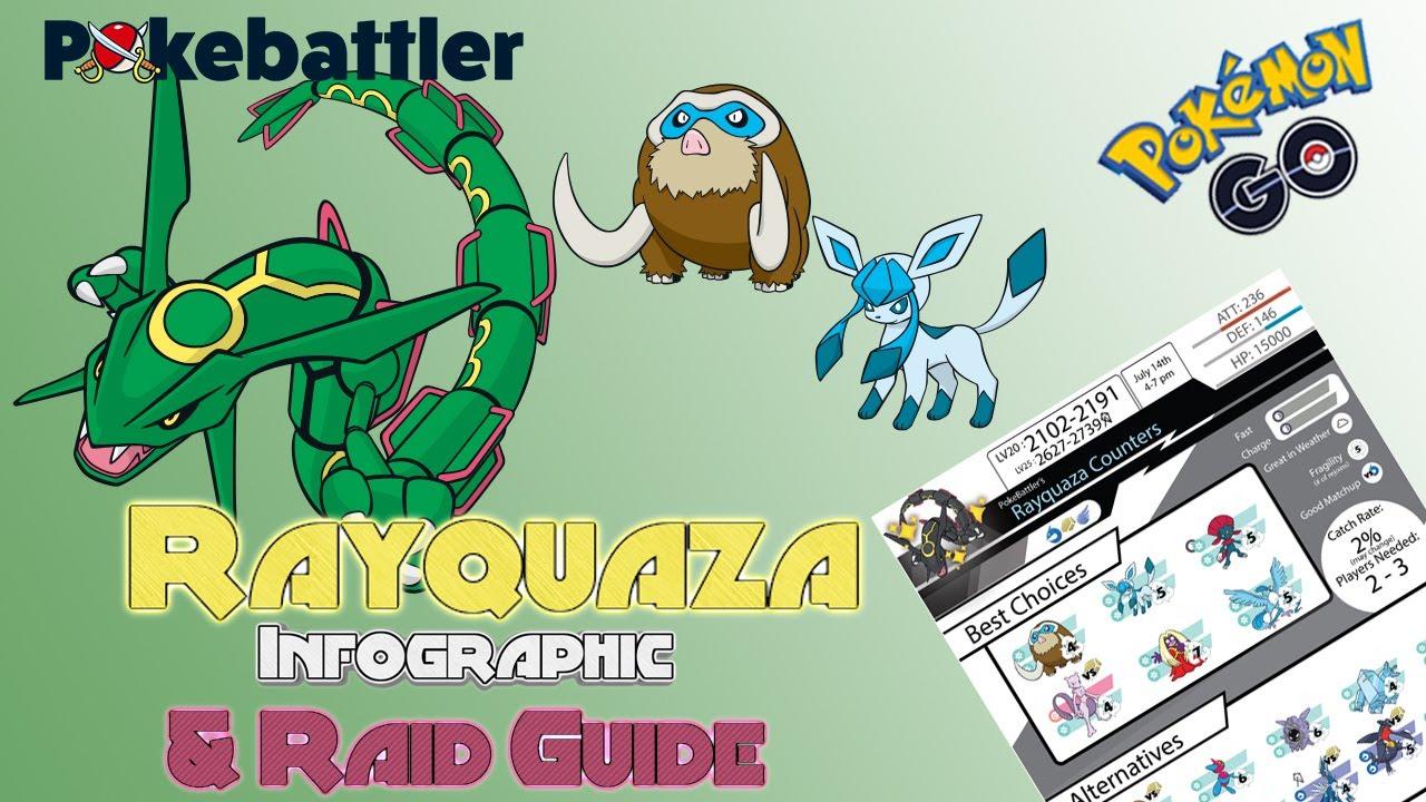 Rayquaza Counters - Pokemon GO Pokebattler