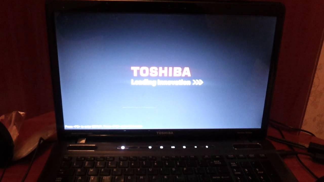 Toshiba P775- S7100 Extreme Boot Speed - YouTube