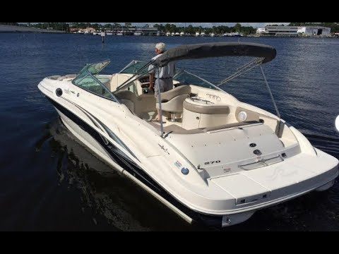2004 Sea Ray 270 Sundeck for Sale at MarineMax Panama City Beach