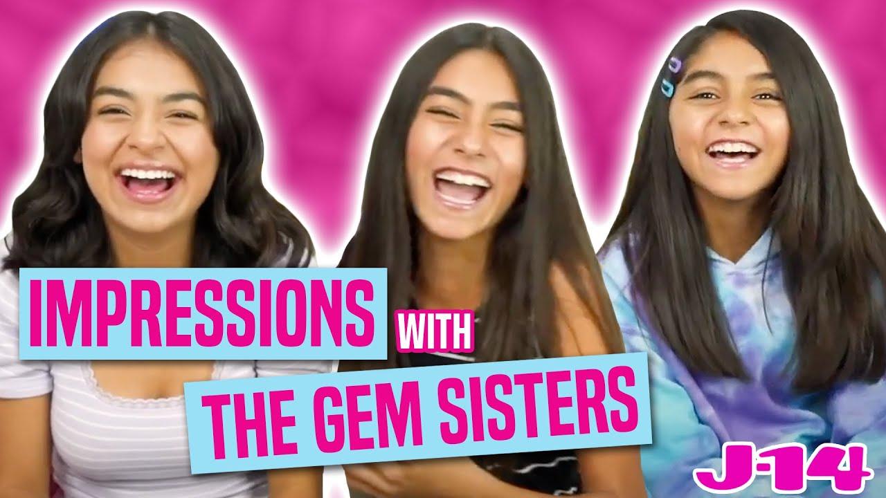 GEM Sisters Do Impressions of Selena Gomez, Justin Bieber & More