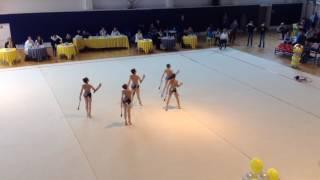 Художественная гимнастика 1 разряд