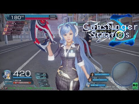 [ガンストΣ] Gunslinger Stratos Sigma VS CPU Playthrough(Nihonbashi / 日本橋) - 건슬링거 스트라토스 시그마
