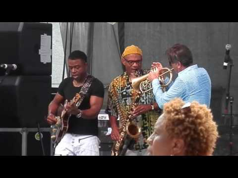 Rick Braun, Whalum, Brown BWB (LIVE) @ The Steel City Jazz Festival 06/24/2016.