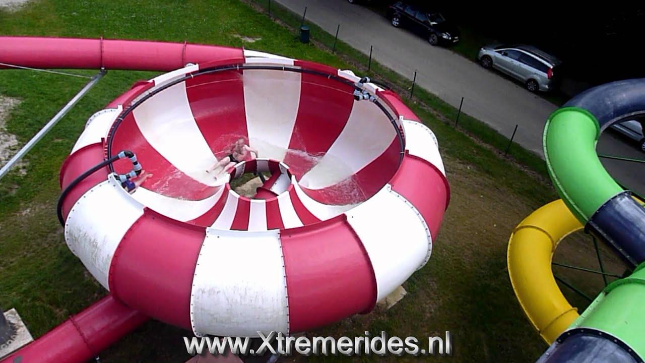 Trechterglijbaan Offslide Lu0027 Hirondelle Holiday Resort, Oteppe Belgium    YouTube