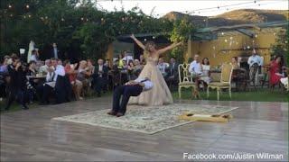 Gelin ilk dans sırasında