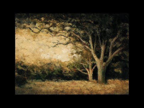 Late Afternoon Field 5×7 Redo Tonalist Landscape Oil Painting Demonstration