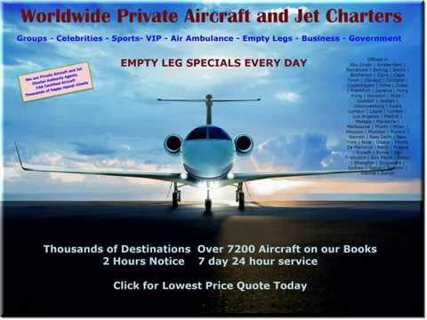 Private Jet Charter around the world   Worldwide Jet Charter   Prices for Jet Charter Worldwide