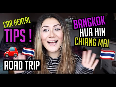 Driving In Thailand | TIPS For Renting A Car In Thailand