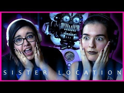 Worst Job Ever! FNAF Sister Location w/ UmmmHeather | FNAF Let's Play