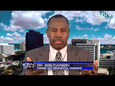 Ben Carson Opens Up about Declining Trump Cabinet Post