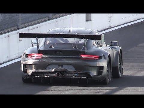 2019 Porsche 991.2 GT3 R Sound Testing on Track!
