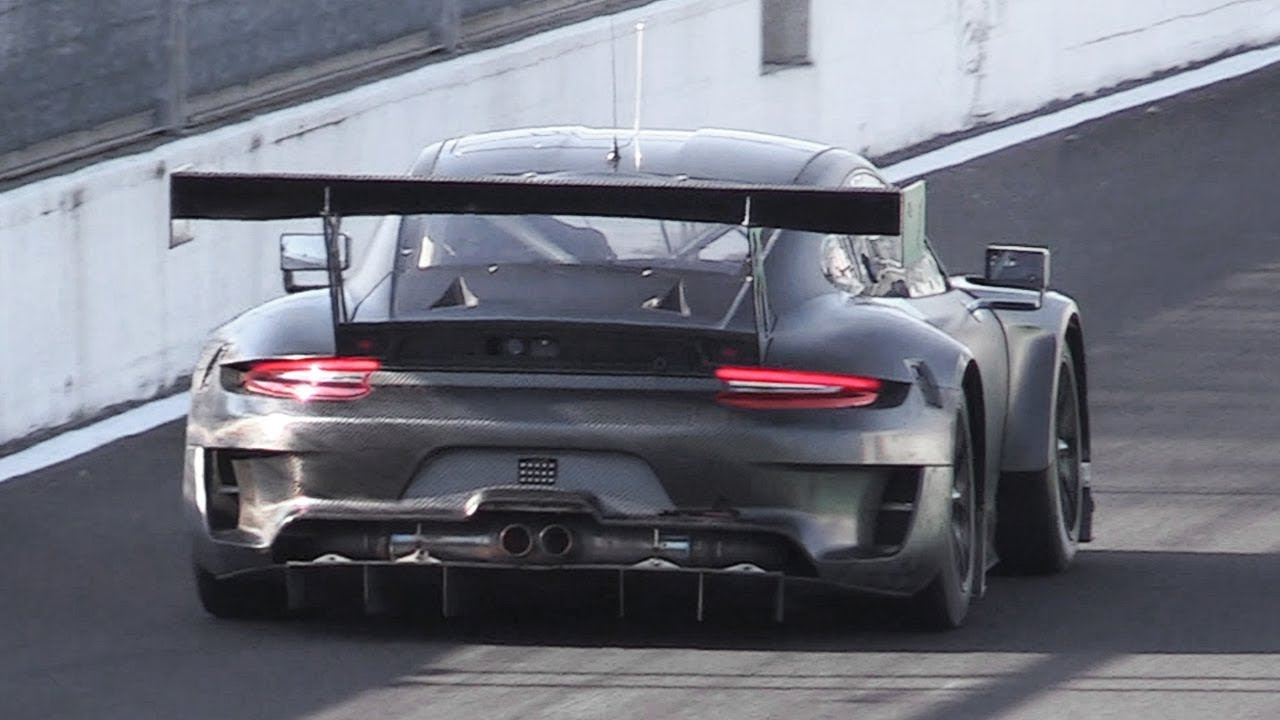 2019 Porsche 991 2 Gt3 R Sound Testing On Track Youtube