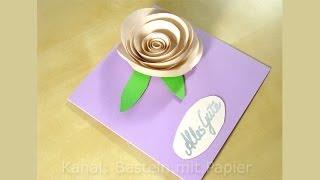 Geburtstagskarten basteln. Basteln Ideen: DIY Geschenk Geburtstag, Hochzeit selber machen