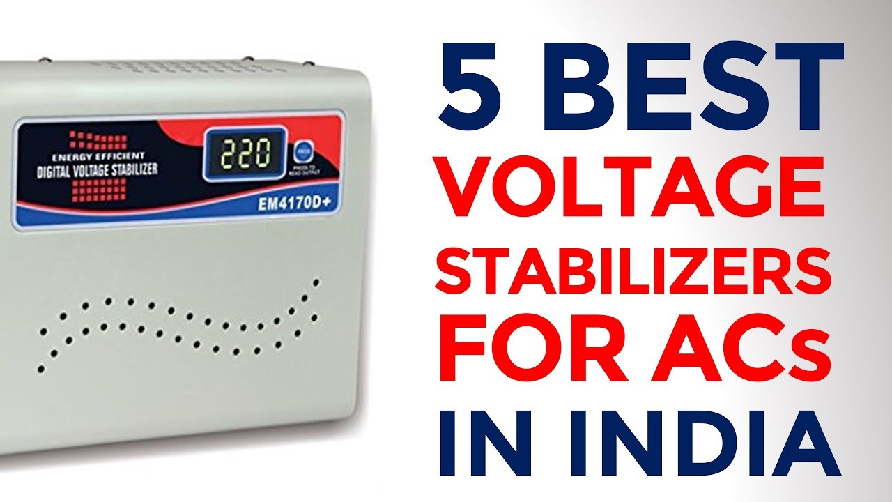 5 Best Voltage Stabilizers for Air-Conditioner (AC) with Price    Stabilizers for 1 5 & 2 Ton ACs