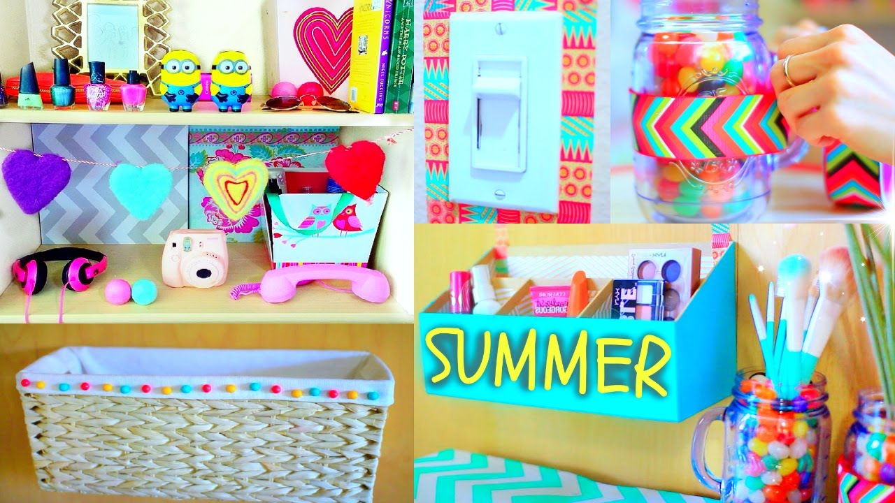 Diy Room Decor 10 Diy Room Decorating Ideas For Teenagers: Tumblr Room Makeover! - YouTube