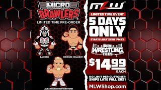 Pre-Order Micro Brawlers NOW!