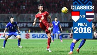 Indonesia vs Thailand (AFF Suzuki Cup 2016: Final 1st Leg Full Match)