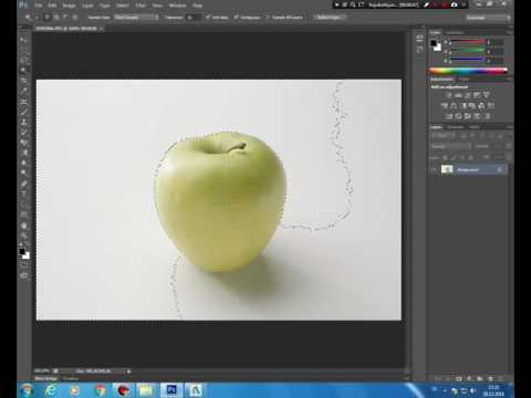 PhotoShop Kursu - Sihirli Değnek Aracı Kullanımı