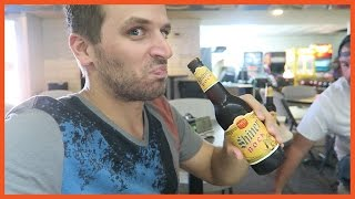 TRYING BEER FOR THE FIRST TIME!