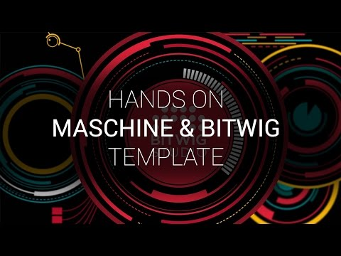 Hands on with the Maschine Template for Bitwig