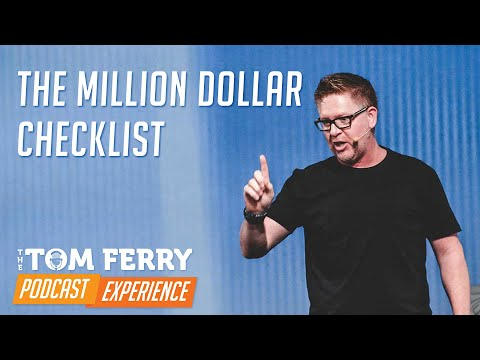 The Million Dollar Checklist | Tom Ferry