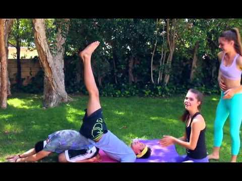 extreme yoga challenge  teagan  sam  youtube