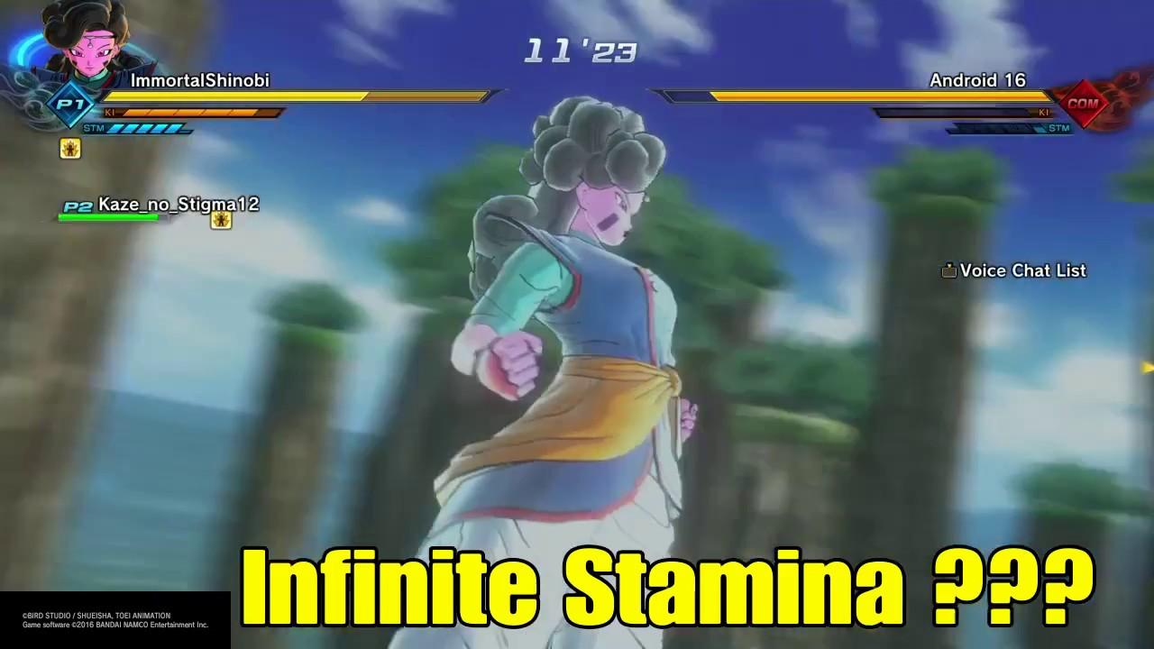 dragon ball xenoverse 2 how to stamina break