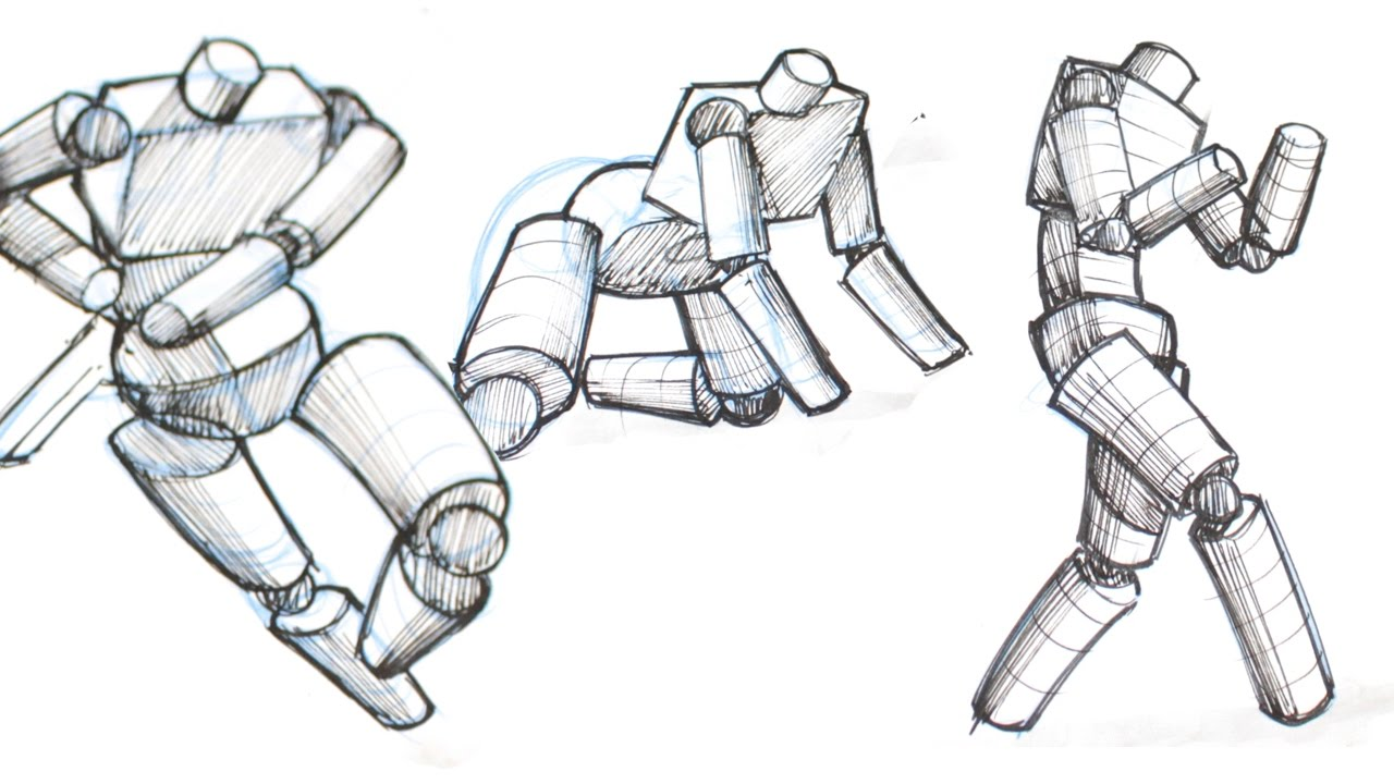 How to Draw Any Pose Easily